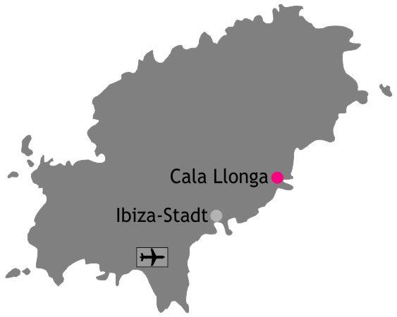 Lage Übersicht Cala Llonga