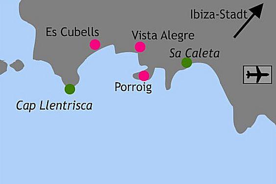 Karte Lage Porroig Vista Alegre