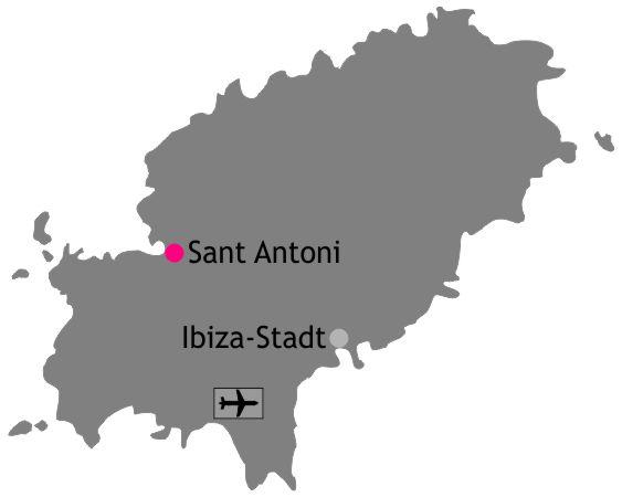 Karte Lage Sant Antoni