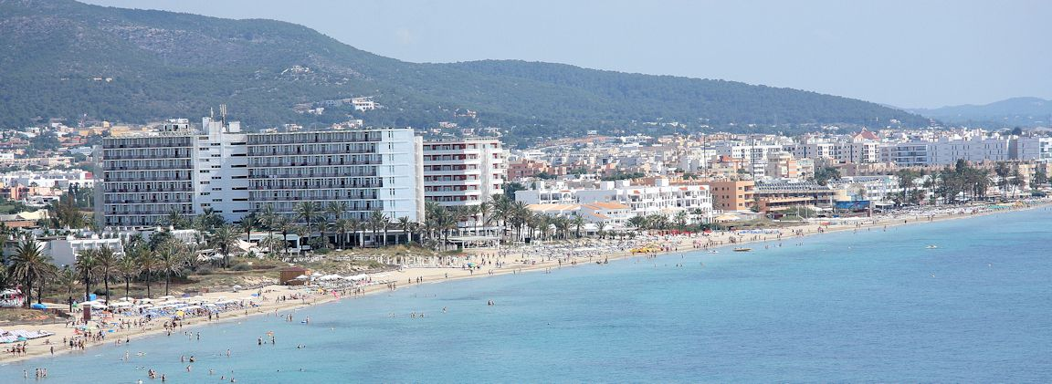 Ibiza Karte Playa D En Bossa.Platja D En Bossa Playa D En Bossa