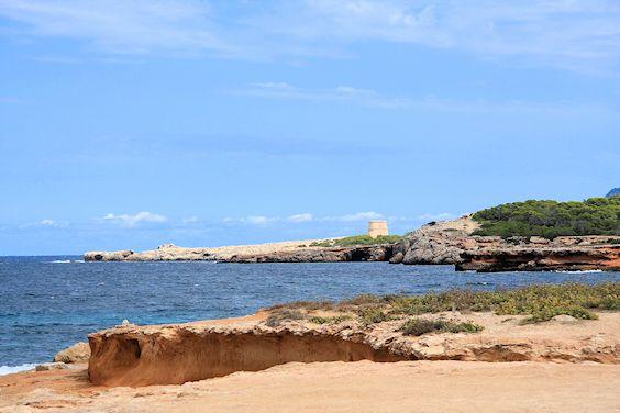 Küstenwanderung bei Platges de Comte