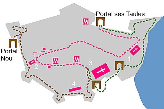 Karte Innenstadt
