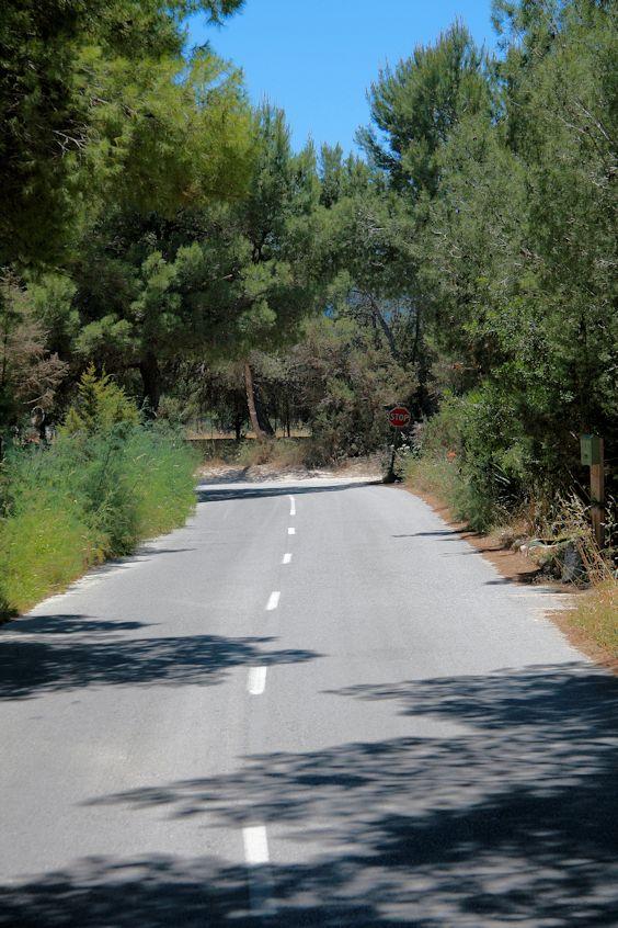 Straße auf Ibiza