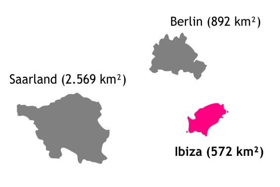 größe Ibiza