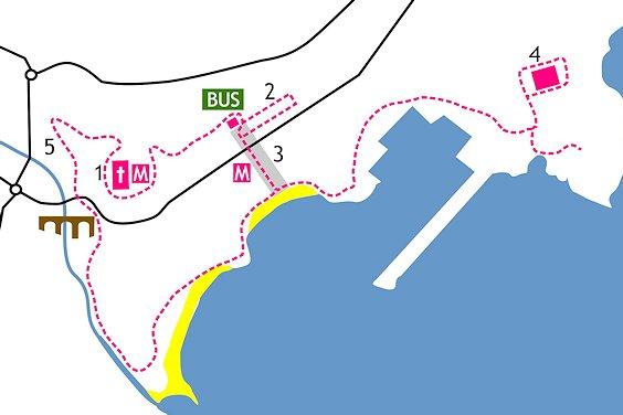 Karte Rundgang